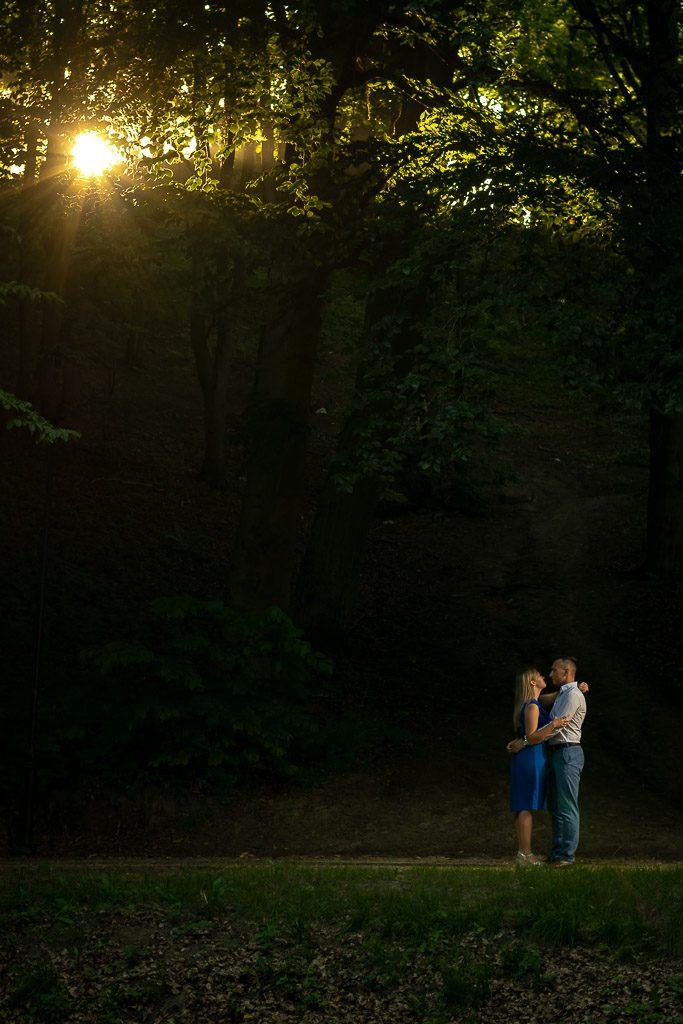 sesja narzeczeńska gdańsk park oruński
