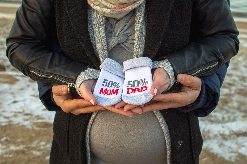 sesja ciążowa w górkach zachodnich